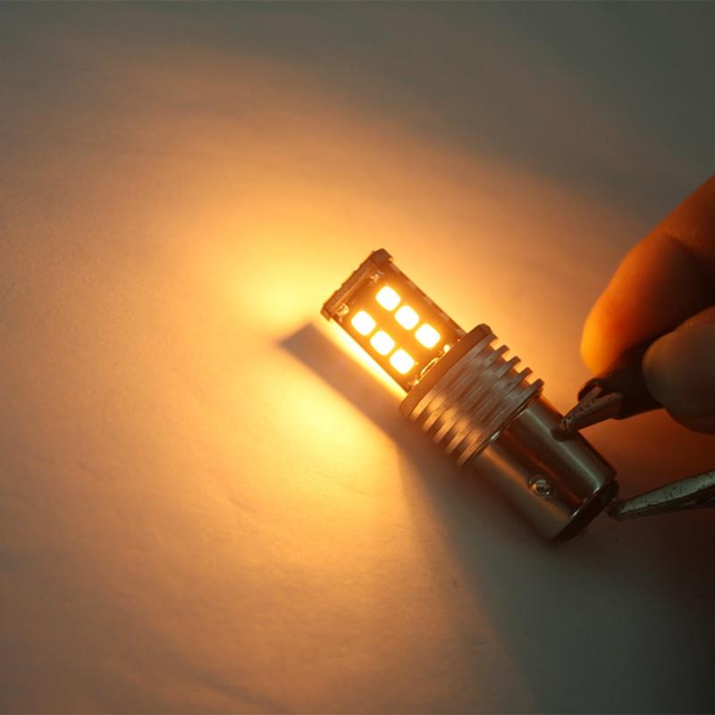 2 gab. P21W BAY15D 1157 LED 15SMD 2835 automašīnas miglas lukturi - Auto lukturi - Foto 4