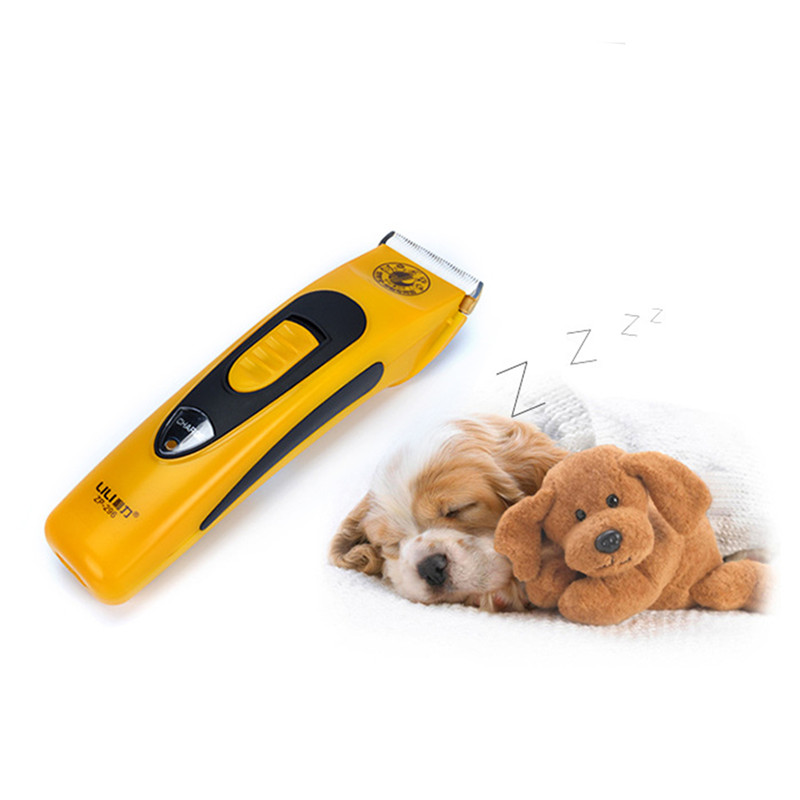 LILI ZP 296 Professional Pet Dog Hair Trimmer 48W Cat Shaver Electric Scissors Dogs Grooming Clipper Cutting Haircut Machine