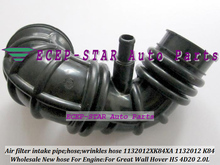 Free Ship Air filter pipe intake wrinkles hose 1132012XK84XA 1132012-K84 1132012 K84 For Great Wall GW Hover H5 4D20 2.0L 2.0T