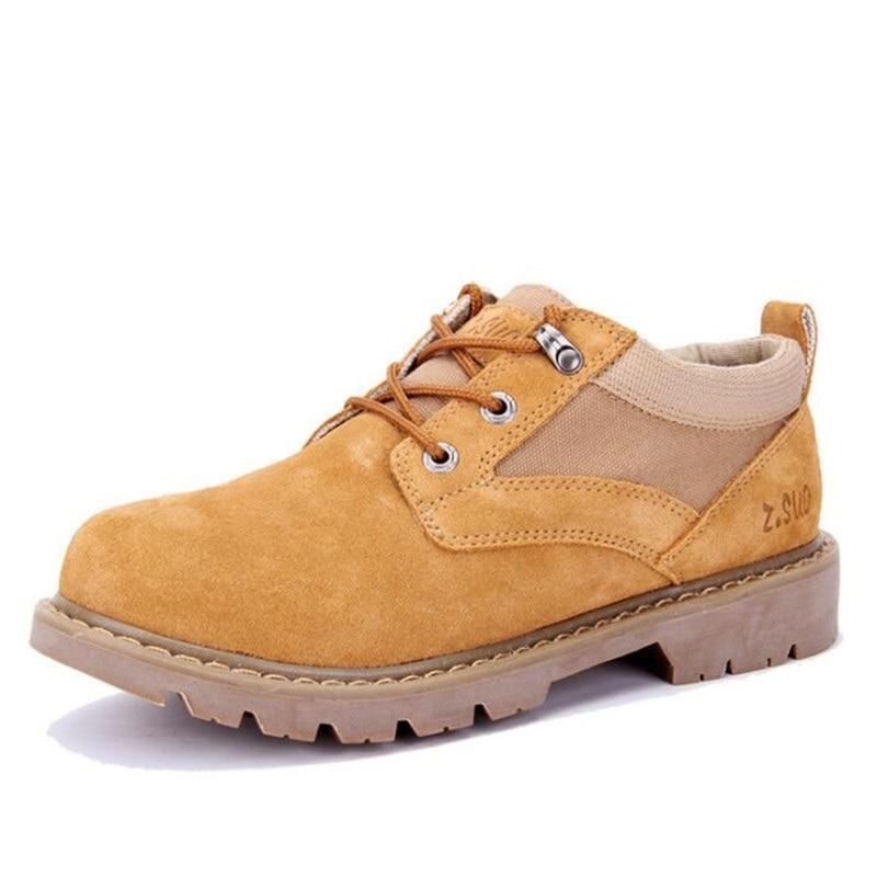 Sapatos Camurça Homens Ferramentas Massa Novos Em Los Botas Zapatos Dos De Bege laranja Respirables Moda Respiráveis Masculina Hombres Egdd4qxI