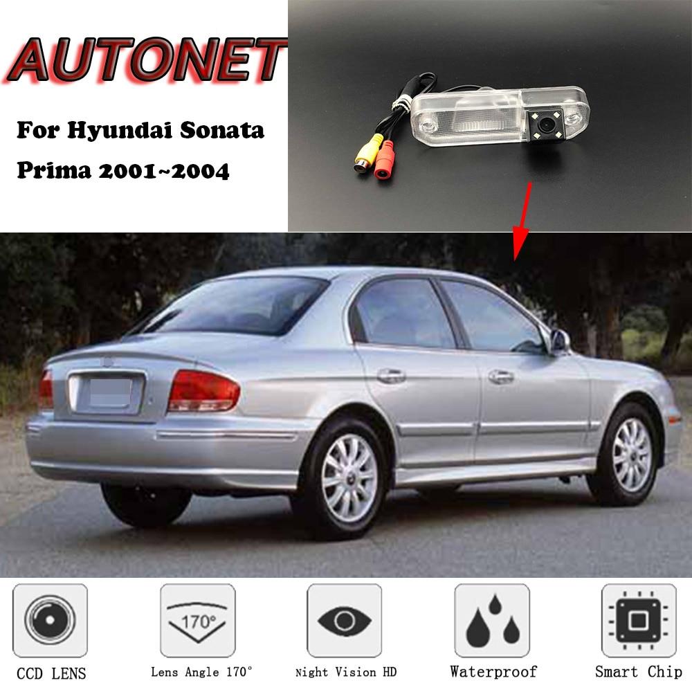 AUTONET Backup Rear View Camera For Hyundai Sonata Prima 2001 2002 2003 2004 Night Vision Parking Camera License Plate Camera