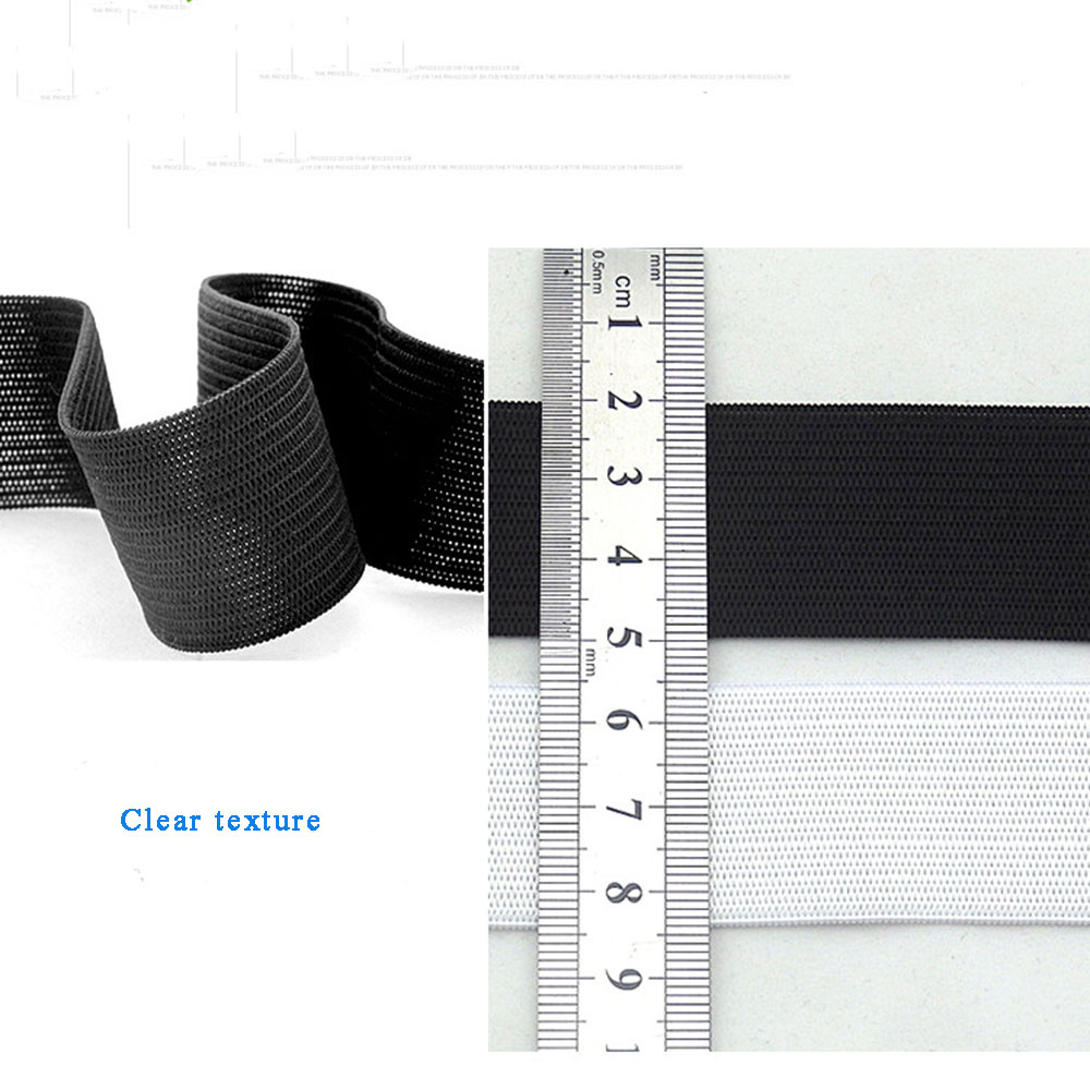 1 Yard Flat Elastic Band Sewing Clothing Accessories Nylon Webbing Garment Sewing Accessories Width 1 5cm 2cm 2 5cm in Elastic Bands from Home Garden