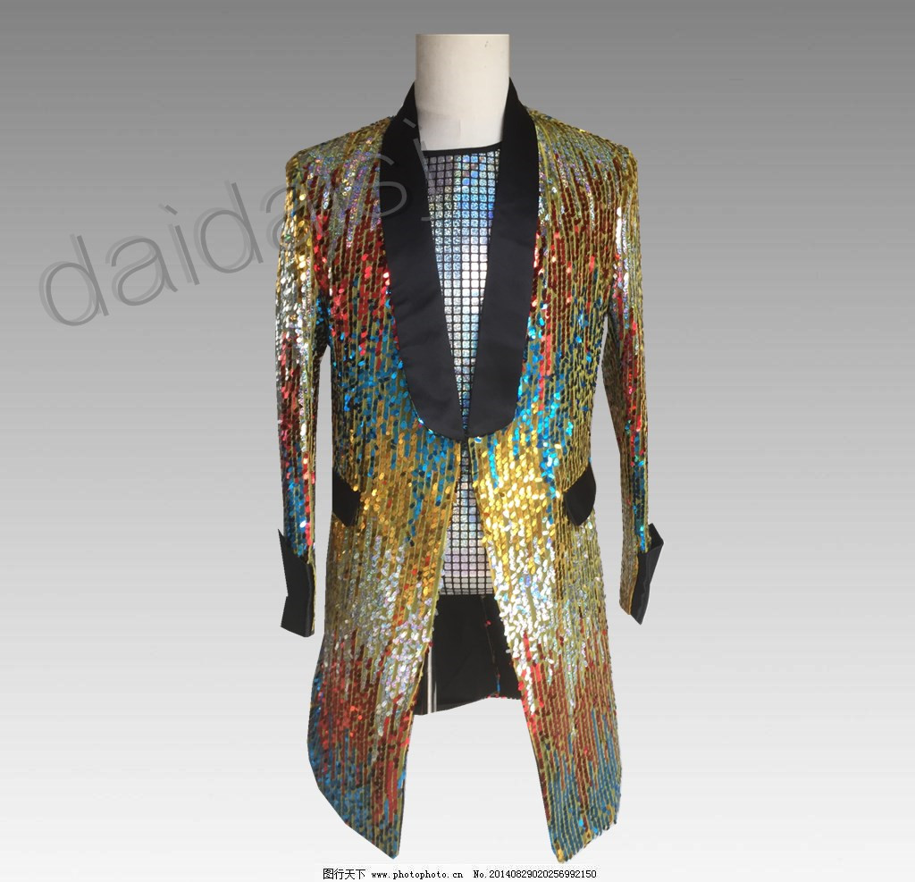 4ca60180 Sequins Rainbow Bling Mens Suit Blazer Military Bar Coat Jacket Formal  Costumes Coats & Jackets Clothing, ...