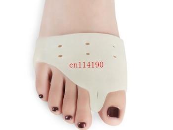 100pcs/lot(=50pairs) Free Shipping special hallux valgus bicyclic thumb orthopedic braces to correct daily silicone toe big bone