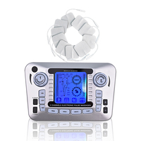 Dual Output Massage Electric Full Body Massager Digital Therapy Machine TENS Acupuncture Pulse Slimming Muscle Relax Pain Relief