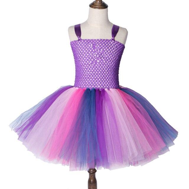 ee6b3e6bc Pony Twilight Sparkle Girls Tutu Dress Purple Inspired Fancy Girl ...