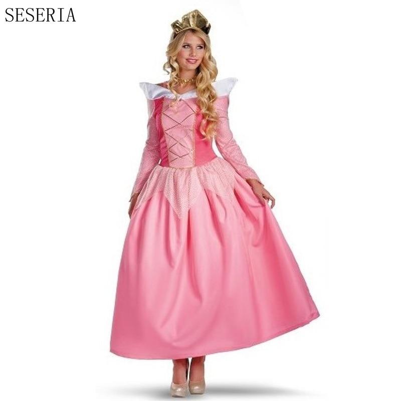 Real elegant adult princess dress