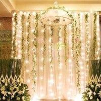 5pc Lot 6M X 3M 600 LED Christmas Xmas Fairy Party String Fairy Wedding Party Curtain