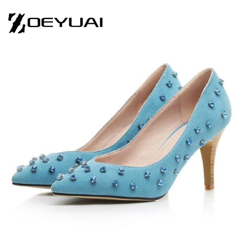 Popular Blue Studded Heels-Buy Cheap Blue Studded Heels lots from