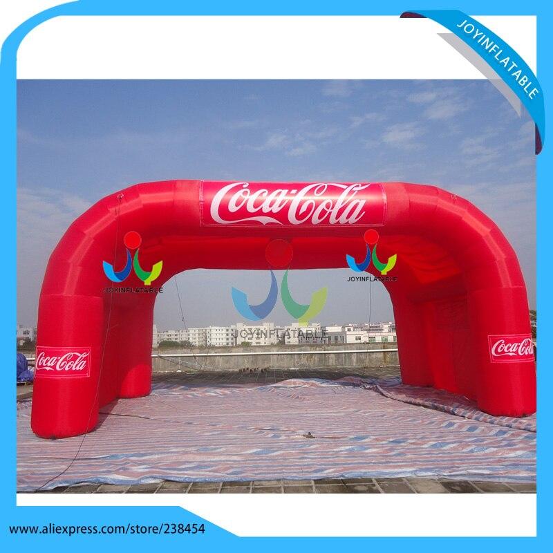 ▻8x4 m sola capa arco de publicidad inflable carpa stand para la ...