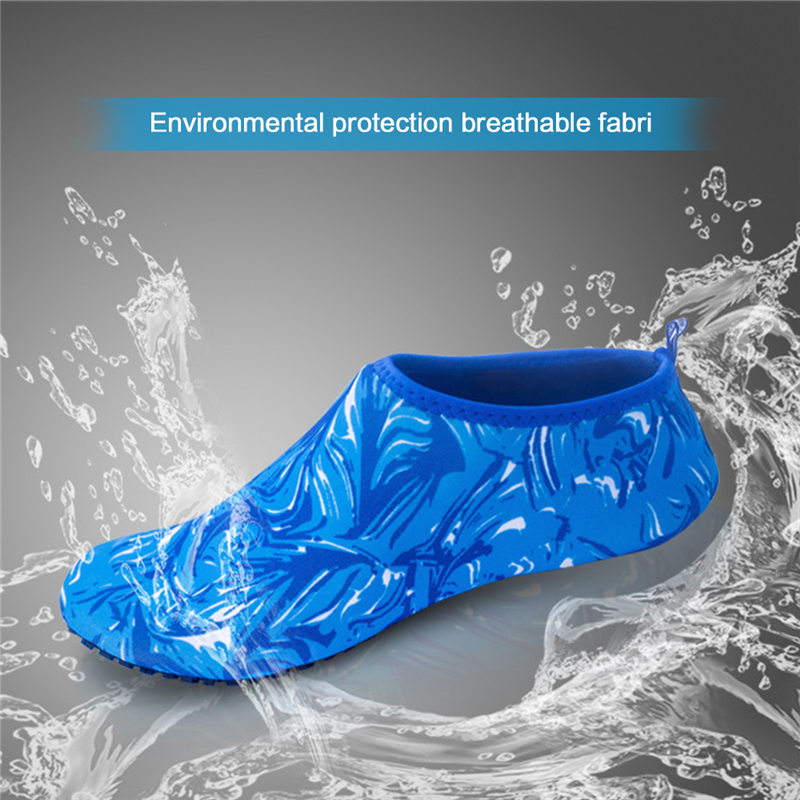 Yoga Summer Water Sports Camouflage Diving Socks Swimming Snorkeling Non-slip Seaside Beach Shoes for Adult Child Beach Camping 2