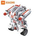 Bloque de construcción de robots xiaomi mi conejito robot inteligente bluetooth control remoto móvil 978 piezas de repuesto de auto-equilibrio del sistema