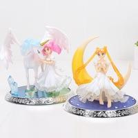 17cm Sailor Moon Figure Tsukino Usagi Princess Serenity PVC Action Figure Collectible Model Toy Kids toys