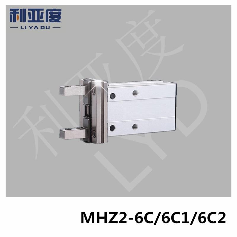 MHZ2-6C MHZ2-6C1 MHZ2-6C2 pneumatic SMC finger cylinder parallel open Single action (often closed) air clawMHZ2-6C MHZ2-6C1 MHZ2-6C2 pneumatic SMC finger cylinder parallel open Single action (often closed) air claw