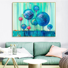 Laeacco Canvas Painting Calligraphy Graffiti Trees Poster Print Modern Wall Art Pictures For Living Room Bedroom Home Decoration недорого