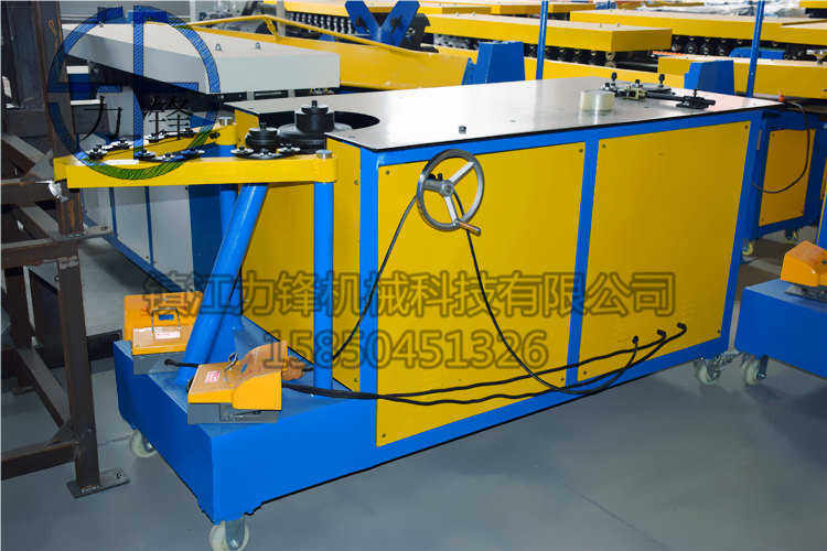 ventilation equipment elbow machine,air tube/pipe elbow forming machine price