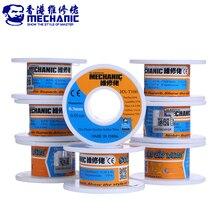 Fio de solda mecânico núcleo rosin, 55g sn63 % pb37 % 0.2/0.3/0.4/0.5/0.6 ferramentas de solda bga fio de estanho
