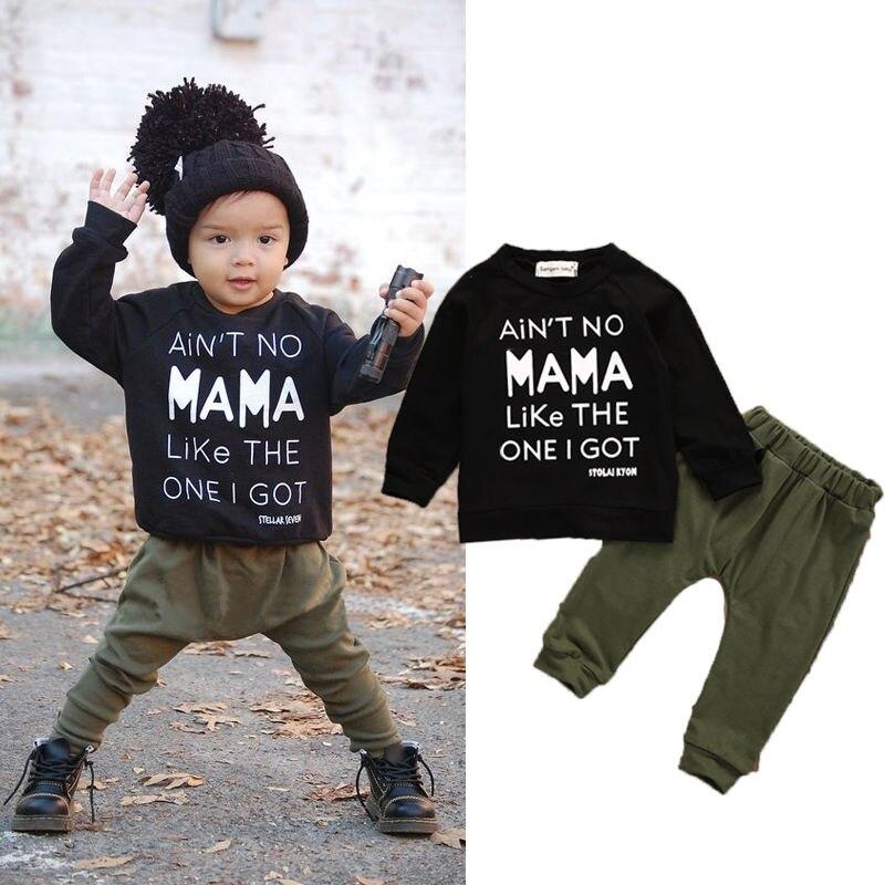 b31256e98 Fashion camouflage kids boys clothes set autumn toddler clothing ...