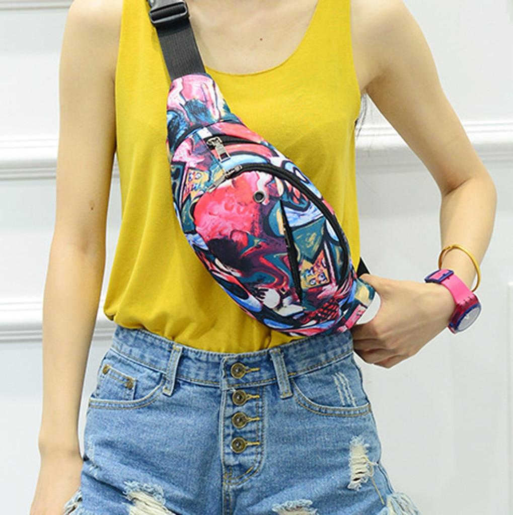 Bags for Crossbody-Bags Luminous-Strip Women Phone-Bag Sport Unisex Outdoor Outdoor