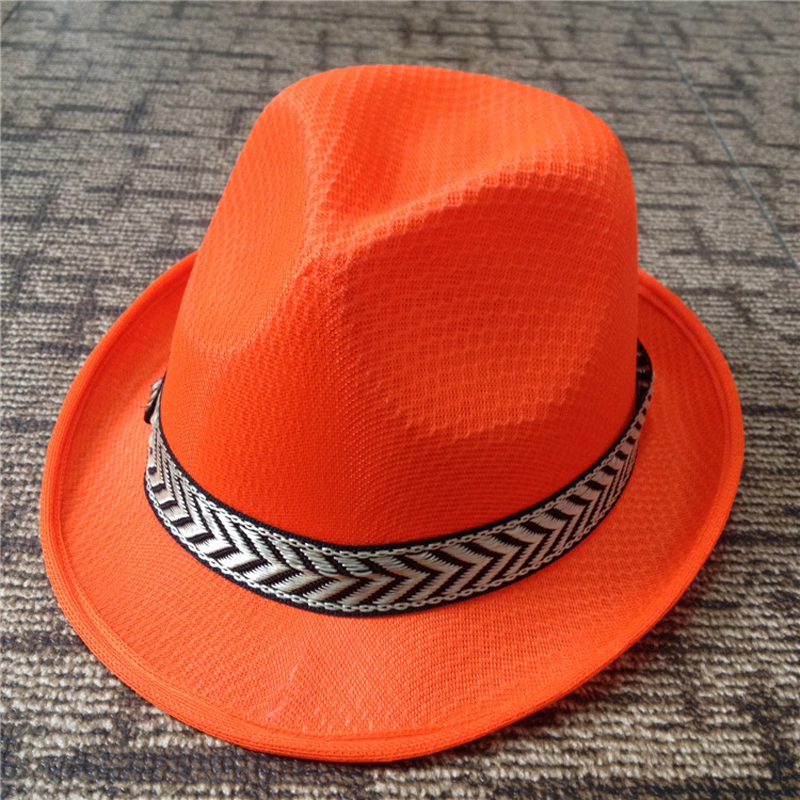 35570835 Summer fast dry Jazz Caps Hats panama Fedoras Outdoor Sunhat Performance  hat chapeau headgear for men