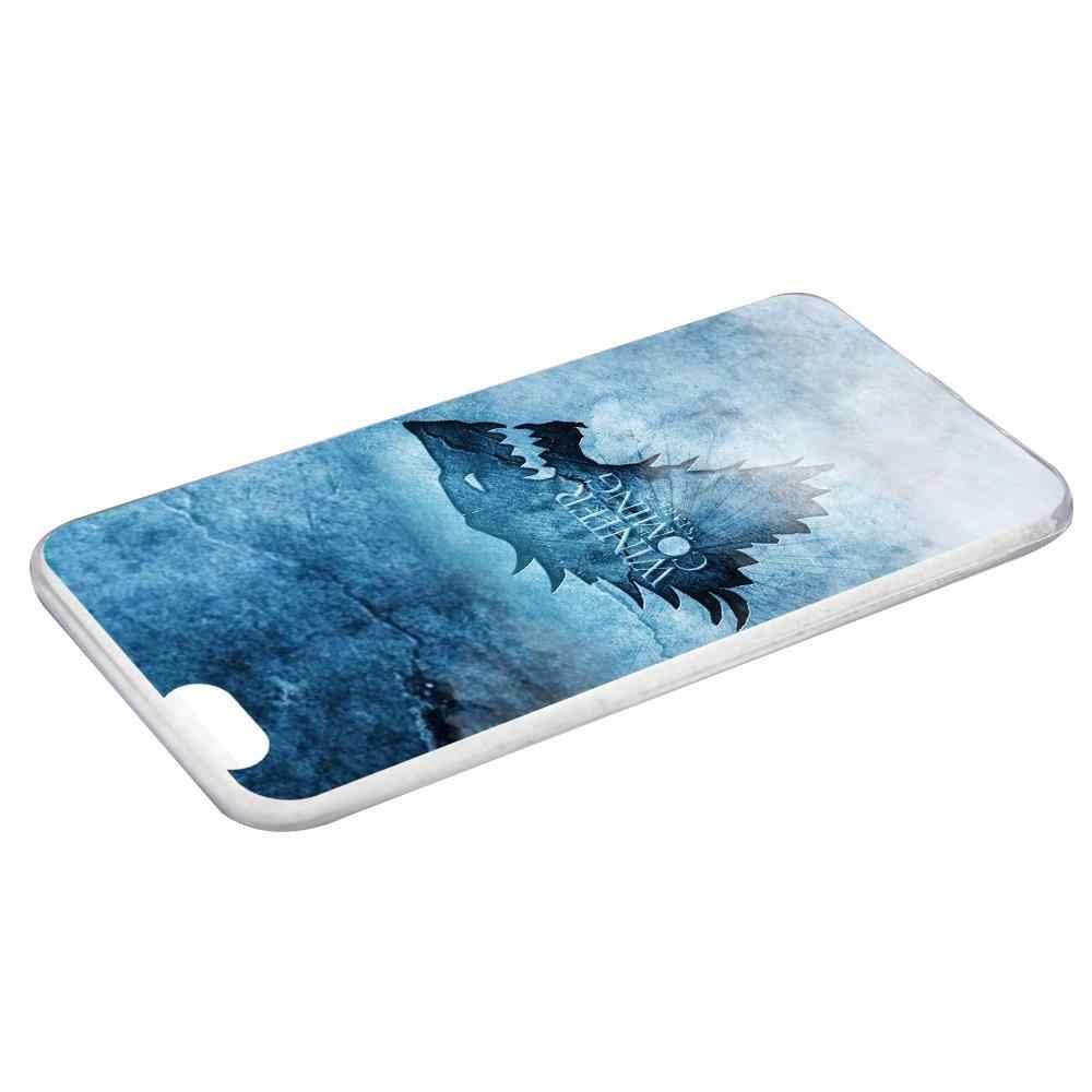 Mutouniao 青狼シリコンソフト TPU ケース Huawei 社の名誉 6 × 8 プロ V9 4C 5C 7X 7C v10 メイト 7 8 9 10 P20 プロ Lite の