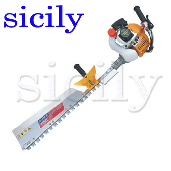 SICILY Single blade Hedge machine, Hedgerow clipper, gasoline tea tree leaf pruning machine, two stroke pruning machine LJ7500D