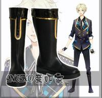 Six Gravity THE ANIMATION Gravitic Love KEN Cosplay Costume Pro Boots Punk Shoes