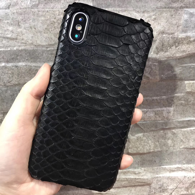 100% authentic 4b589 4e795 US $68.99 |Luxury Genuine Python Skin Leather Case For Apple iPhone X  Original Real Snake Skin Leather Back Cases Cover For iPhone X Cases-in  Fitted ...