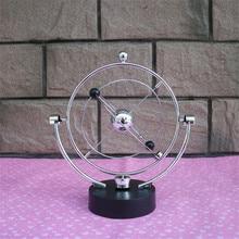 Magnetic Newton Pendulum Ball Power battery Home Office Decoration Educational Gift Children Physics Science Metal Balance Ball