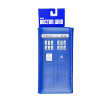 Doctor Who Long wallet womens real PU leather blue phone clutch movie doctor mystery luxury woman credit card bag
