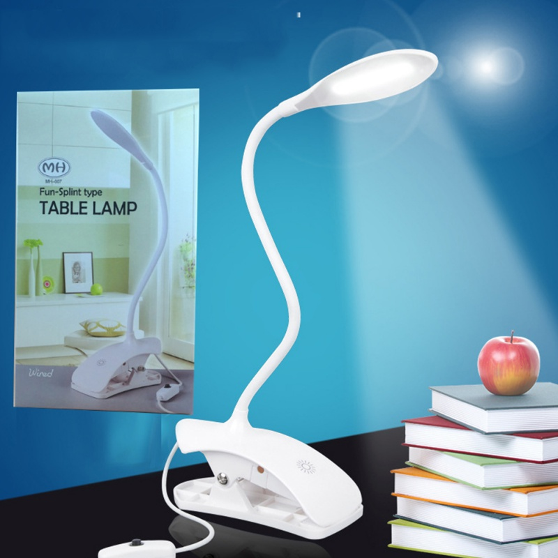 Lamps & Shades Led Table Lamp Desk Table Light Led Desk Lamps Flexo Flexible Led Reading Lamp With Clip Ultra Bright And Power Saving