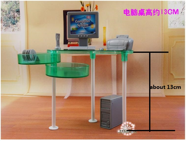 New Summer Computer Room Living Room Set For Barbie Doll, Fashion Doll  Furniture Assembled Toys For Baby In Dolls Accessories From Toys U0026 Hobbies  On ... Part 96