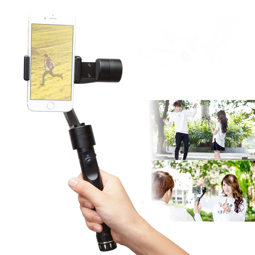 Zhiyun Smooth 2 Smooth II 3 Axis Brushless Handheld Gimbal Stabilizer for iPhone 6S 7 Smartphone Handheld Gimbal Z1 Smooth 2 II