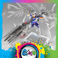 CMT In Stock Model Heart Super Nova MG 1/100 XXXG 00W0 Wing Zero Custom Mo Kai Custom Mobile Suit Anime Model Kit