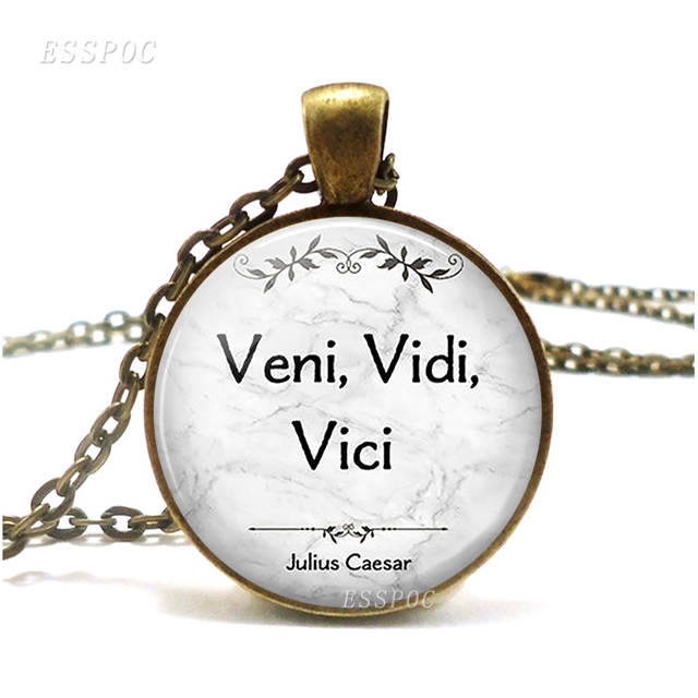 US $1 01 49% OFF|Veni, Vidi, Vici