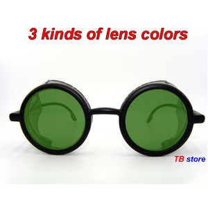 Image 3 - 12235 protective glasses Windproof dust proof Shockproof safety goggles Collapsible Avant garde fashion Cycling goggles