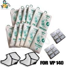 Mulit set motor filter vacuum cleaner bags for VORWERK KOBOLD VK140 VK150  FP140 FP150 vacuum cleaner parts