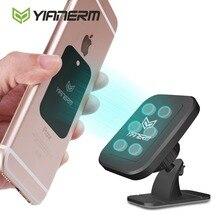 Yianerm 6 Aimant Magnétique Support de Téléphone De Voiture 3 M Bâton Support Voiture tableau de Bord Support Pour iPhone X 6 6 s 7/Plus, Samsung, Xiaomi, Huawei, LG