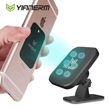 Yianerm Magnet Car Phone Holder For iPhone X Xs Max Strong Magnetic Stand Car Holder For Phone in Car For Samsung S9 Support