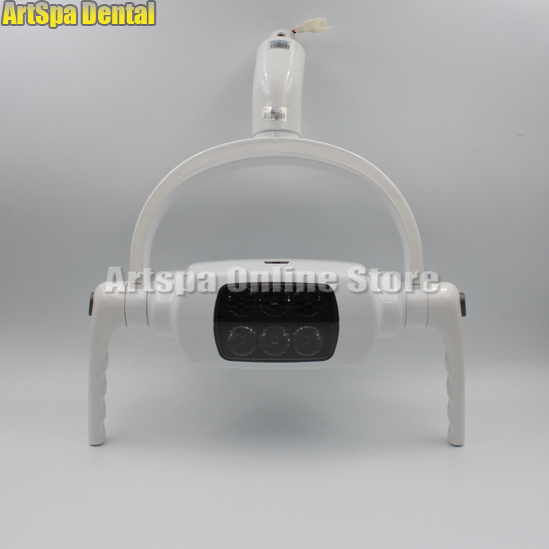 Shadowless Operation Dental LED Lamp Dental Operatory Oral Light Induction Lamp for Dental Unit Chair With Sensor Manual Switch dental chair cold light shadowless with touch screen dental operation lighting led lamp for implant