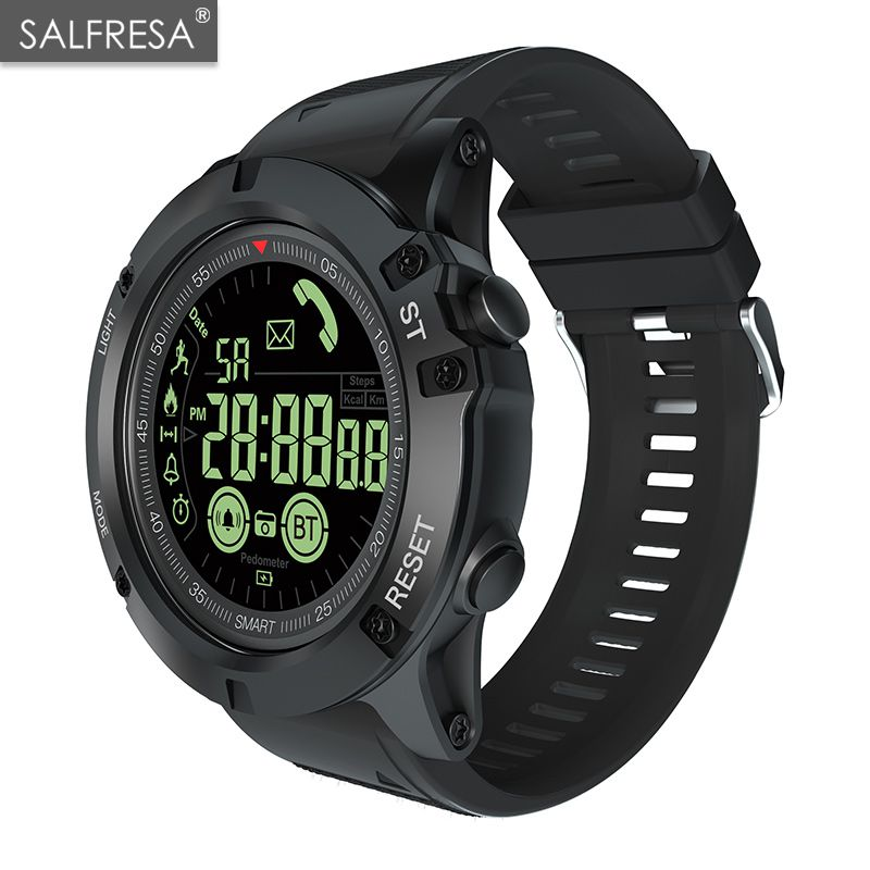 SALFRESA EX17S Professional Sport Smart Watch Men IP68 5ATM Waterproof 2 Years Standby 1.24 Inch Display Smartwatch For Android