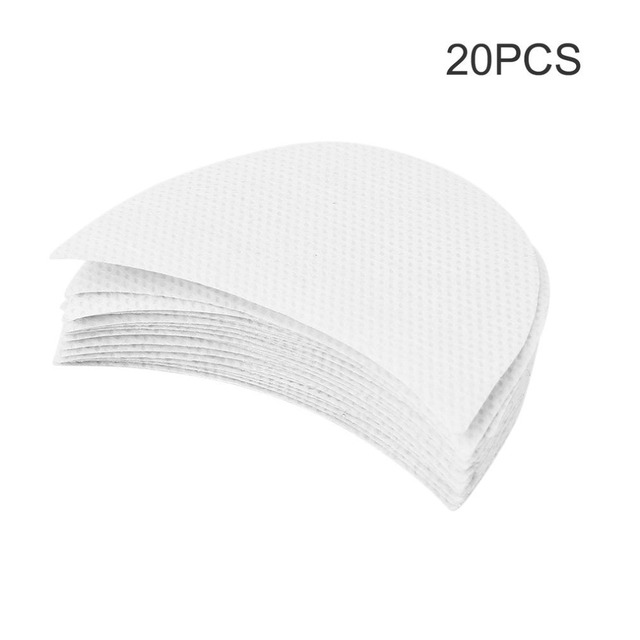 20pcs Professional Eyeshadow Pad Shields Under Eye Patches Disposable Eyelash Extensions Pads Protect Pad Eyes Lips Makeup Tool 1