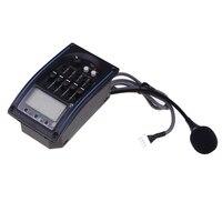 2 stks ofEQLC-5 5-Band EQ Equalizer Systeem Akoestische Gitaar Voorversterker Piezo Pickup Lcd-scherm Tuner