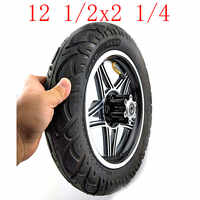 12.5 inch tire12 1/2 X 2 1/4(62-203) wheels alloy rims fits Many Gas Electric Scooters and e-Bike ,Folding electric bicycle