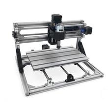 купить DIY CNC Router Kits 3018 GRBL Control Wood Carving Milling  Mini Milling Wood Engraving Machine Printer 30x18x4.5cm Working Area дешево