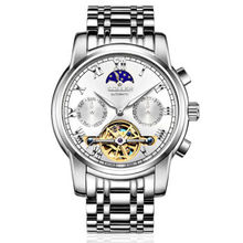 SOLLEN men Wrist Watches relogios masculinos de luxo marcas famosas Week display month display automatic mechanical