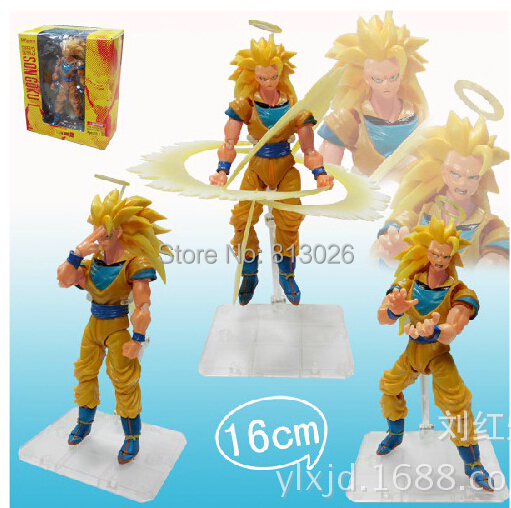 Подробнее о Dragon Ball Z Super Saiyan 3 Son Goku Action Figure PVC Collection figures toys for christmas gift brinquedos with Retail box 16cm gotenks dragon ball z action figure pvc collection figures toys for christmas gift brinquedos collectible with retail box