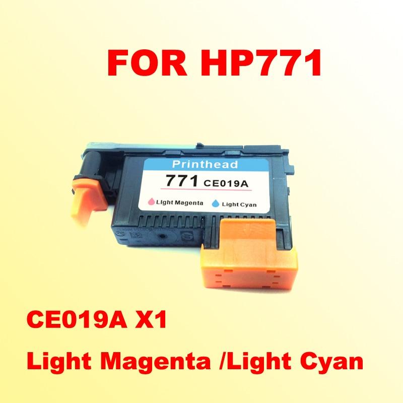 1x Light Magenta /Light Cyan printhead for hp771 for hp 771 DESIGNJET 771 Z6200 printer light
