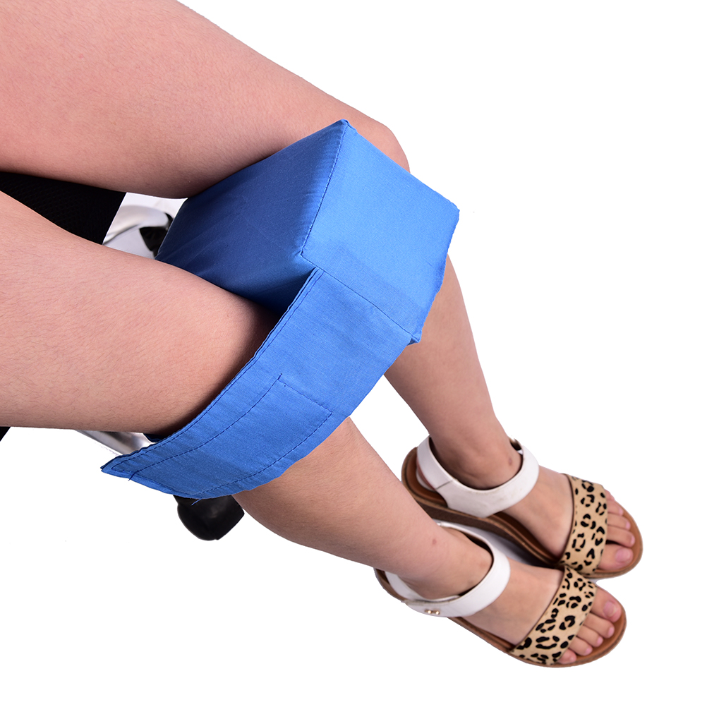 Knee Ease Pillow Cushion Comforts Bed Sleeping Seperate Back Leg Pain Support image