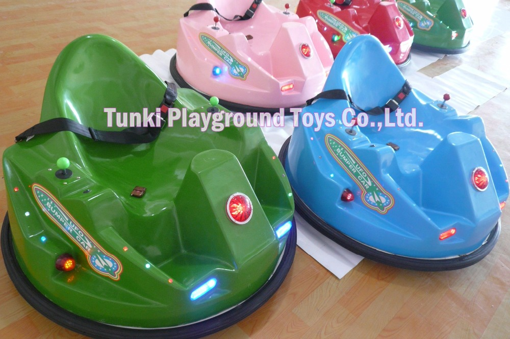 Attractive Battery Operated UFO Inflatable Bumper Cars